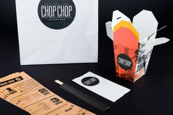 ※이미지 출처:Chop Chop fast food Asian restaurant by Studio Praktik
